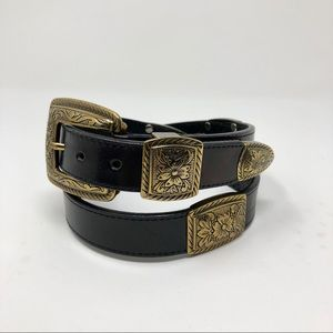 LEATHER BELT BY BRIGHTON
